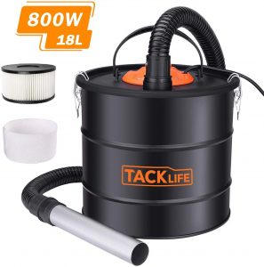 TACKLife 800W Ash Vacuum Cleaner