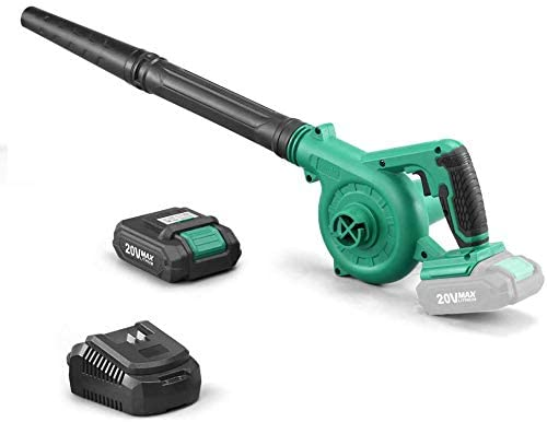 KIMO Cordless Leaf Blower, 2-in-1 Handheld Vacuum/Sweeper, 150 MPH