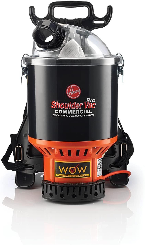 hoover commercial backpack vacuum