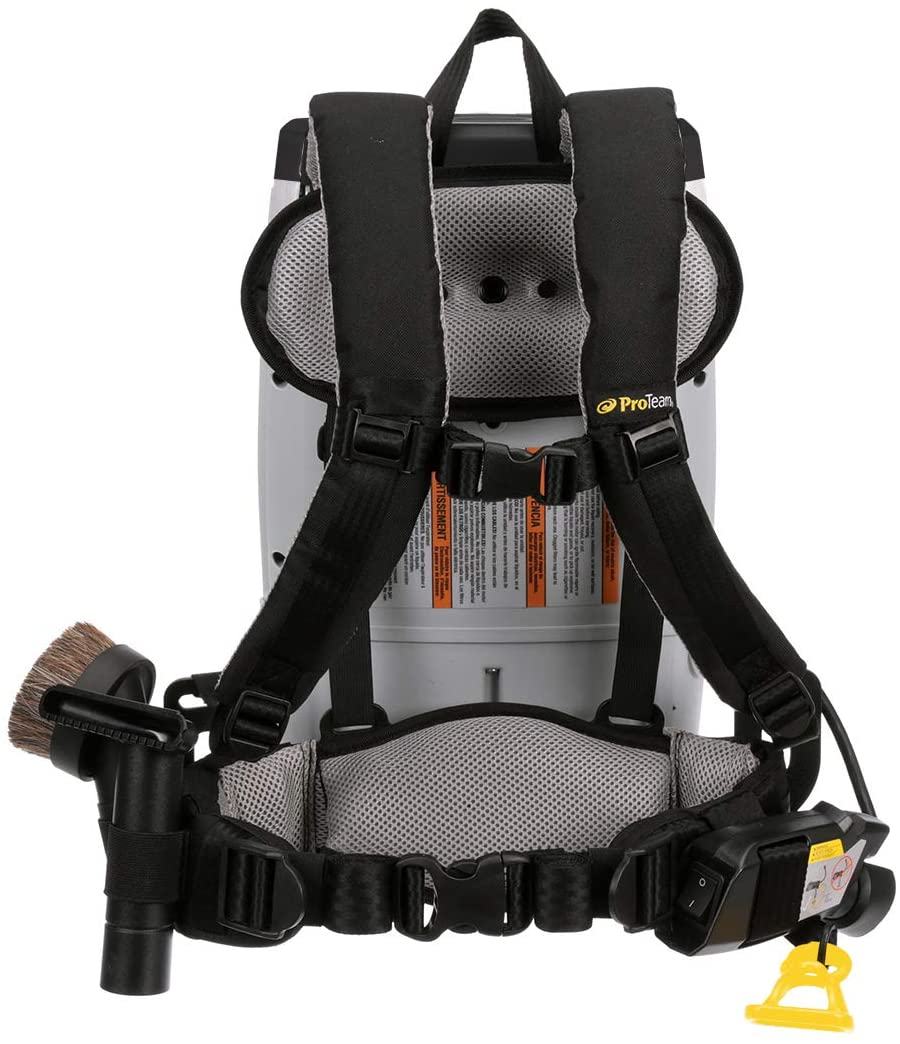 backpack vacuum straps